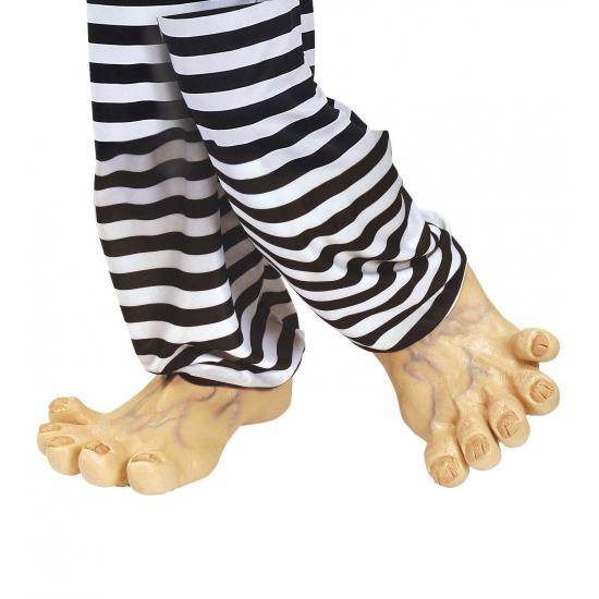 Grote vinyl nep voeten