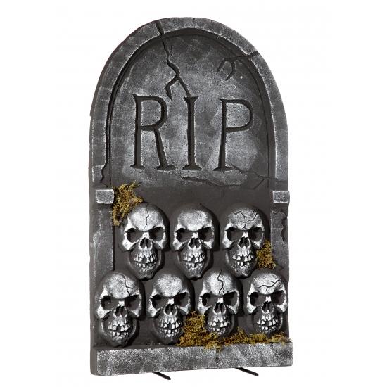Halloween Grafsteen Rip Met Schedels 55 Cm Pruiken winkel kopen