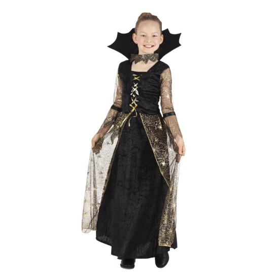 Heksen jurk Adrienne voor meisjes