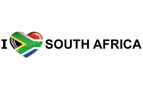 I Love South Africa sticker