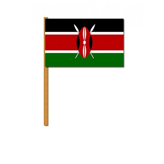 Kenia zwaaivlag