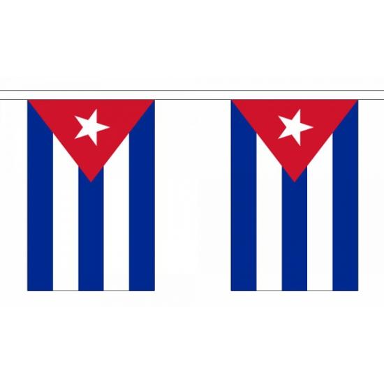 Luxe Cuba vlaggenlijn 9 m