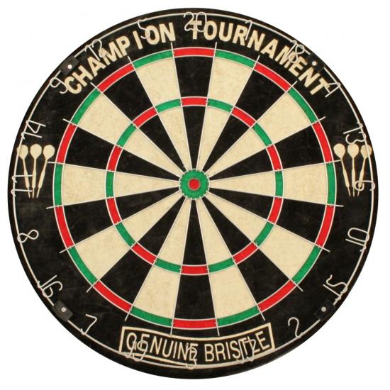 Luxe klassiek dartbord 45 cm