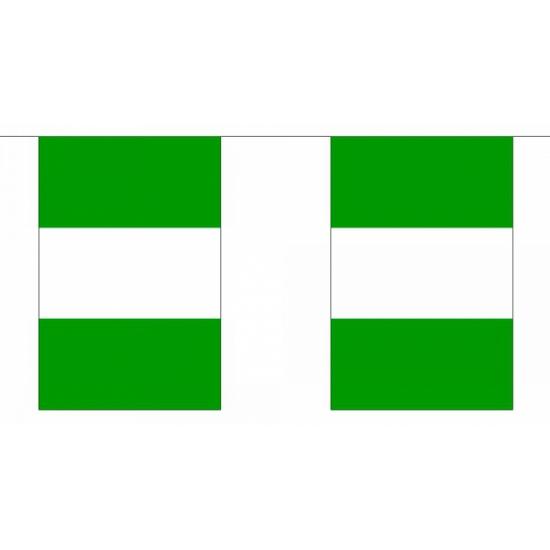Luxe Nigeria vlaggenlijn 9 m