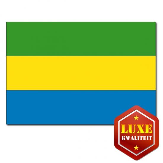 Luxe vlag Gabon