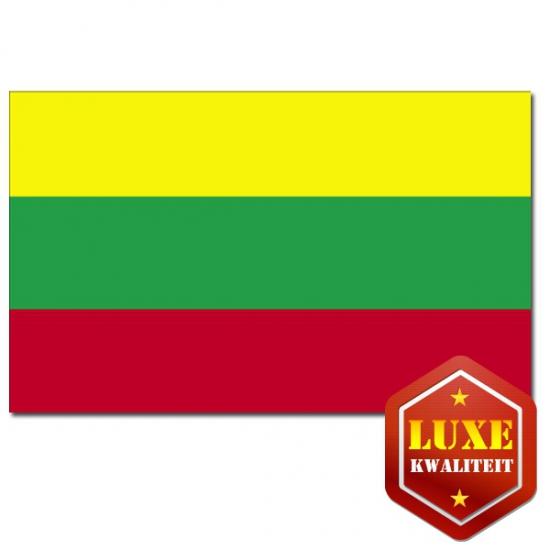 Luxe vlag Litouwen