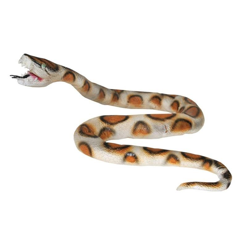Nep python slang van plastic