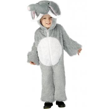Olifanten kinder kostuum met hoed