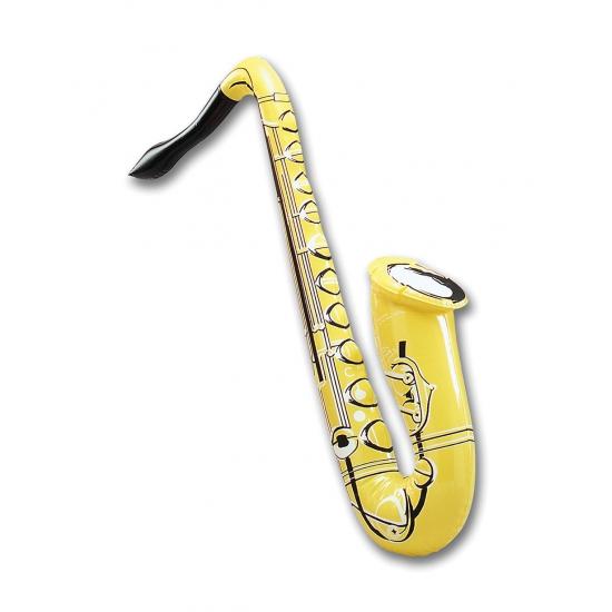 Opblaasbare saxofoon neon kleur