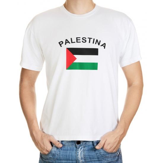 Palestina t-shirt met vlag