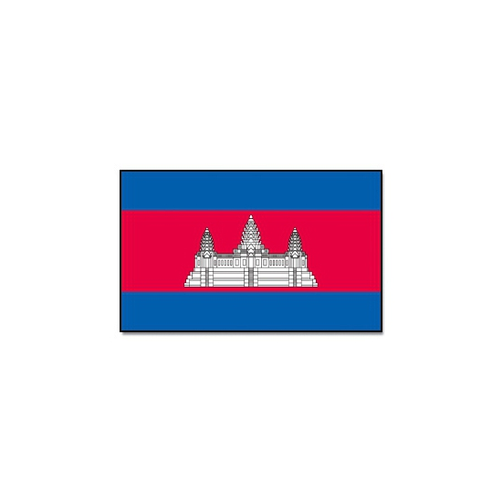 Vlag Cambodja 90 x 150 cm