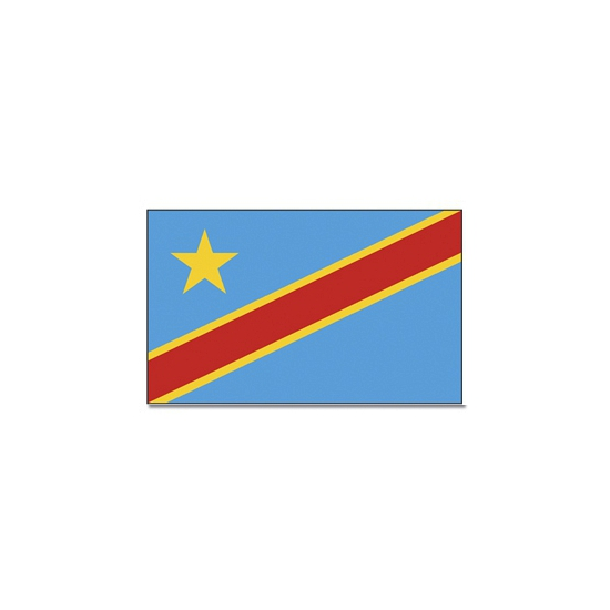 Vlag Congo 90 x 150 cm