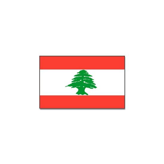 Vlag Libanon 90 x 150 cm