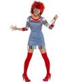 Halloween Chucky kostuum voor dames