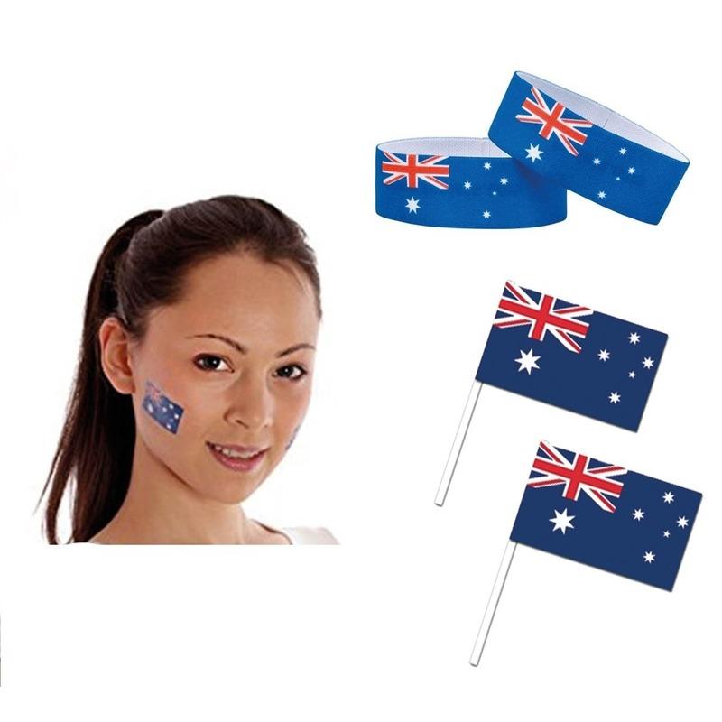 Australie thema verkleed set