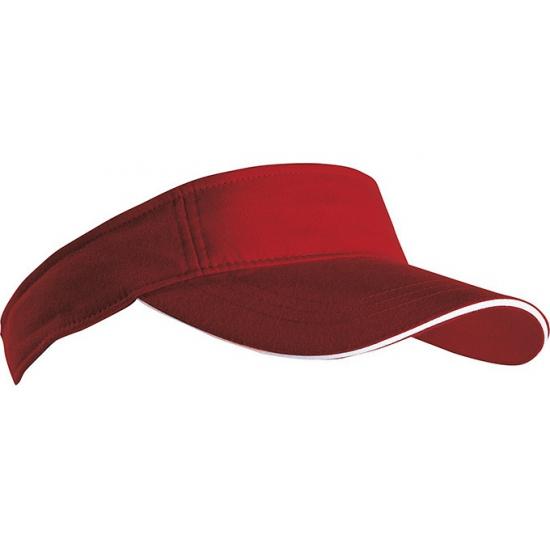 Bordeaux rode zonneklep