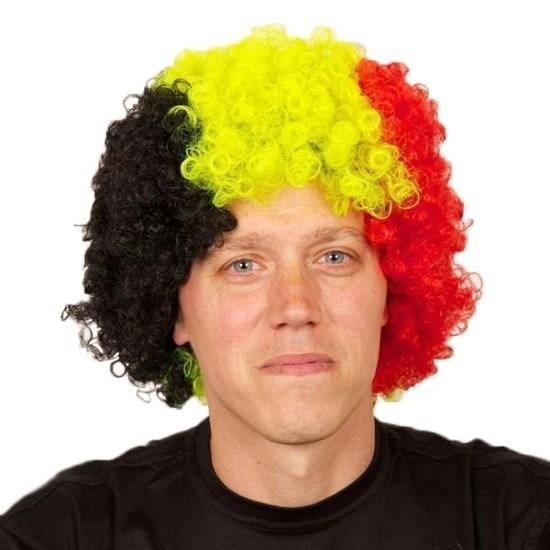 Fan pruik Belgie of Duitsland
