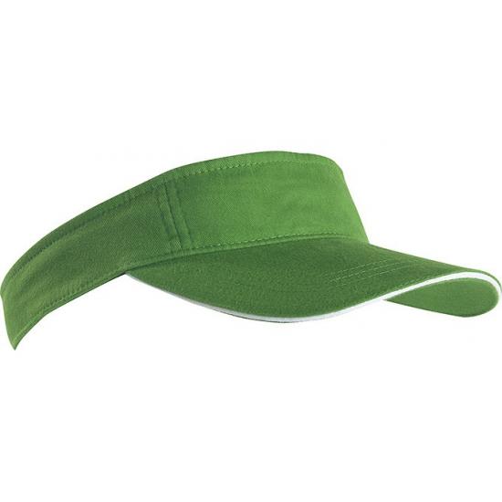 Groene zonneklep