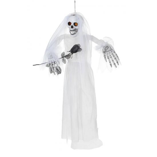 Halloween Decoratie Bestellen.Halloween Spook Bruid Decoratie In De Pruiken Winkel
