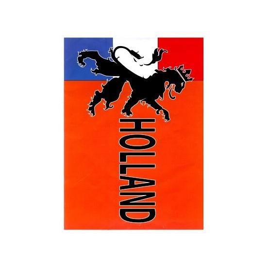 Geen Holland vlag met leeuw 90 x 150 cm Oranje artikelen