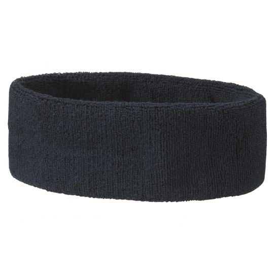 Hoofd zweetband navy blauw