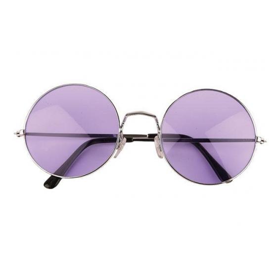 105acee4ae5dfb John Lennon XL bril paars in de Pruiken winkel