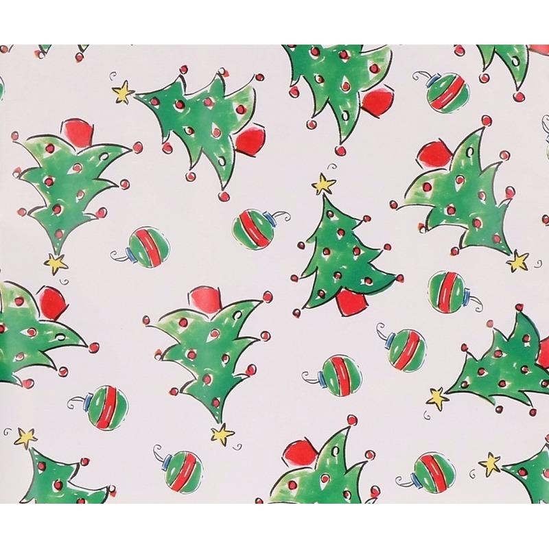 Kerst inpakpapier print 10