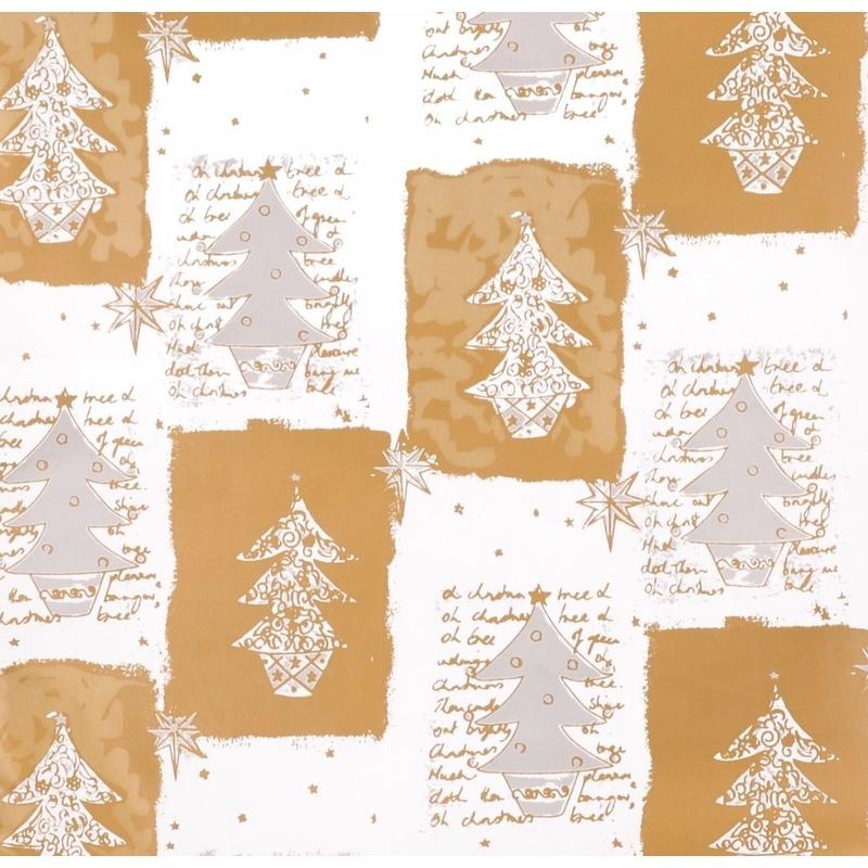 Kerst inpakpapier print 12