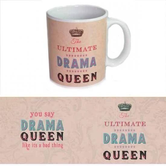 Koffie mok Drama Queen