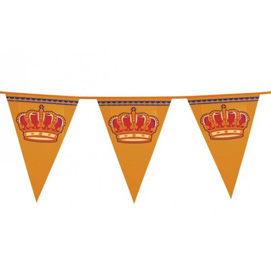 Koningsdag mega vlaggenlijn 8 meter