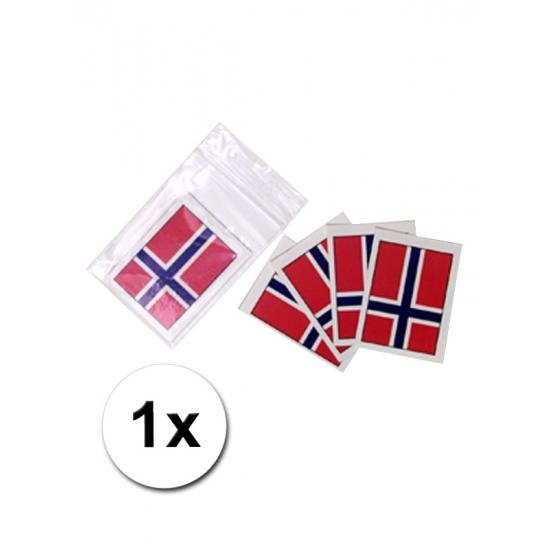 Landen versiering en vlaggen Landen vlag tattoo Noorwegen