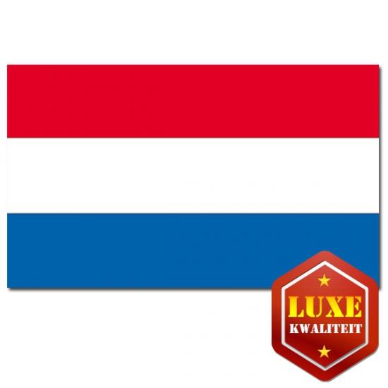 Landen versiering en vlaggen Geen Luxe mega vlag Nederland 200 x 300
