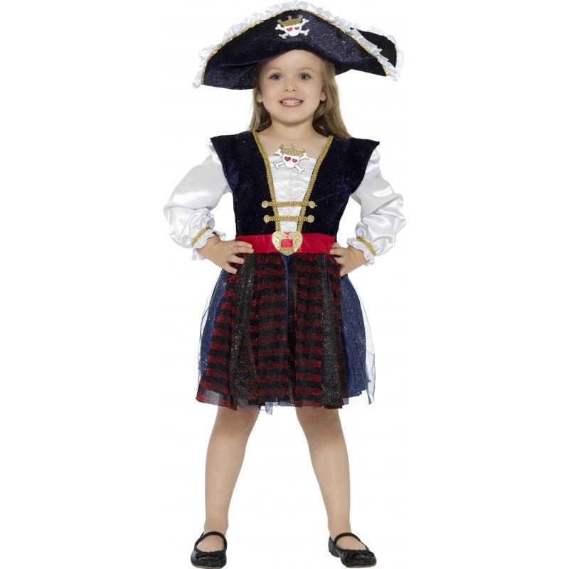 a62a52b11180cc Luxe piraten jurkje voor meisjes € 27.95. Bij  fopartikelenwinkel.nl