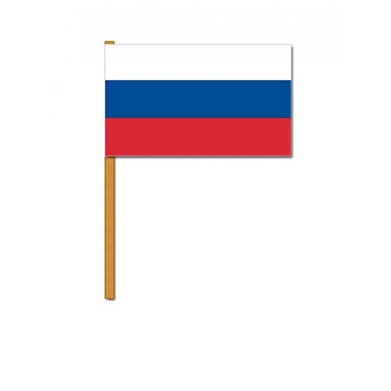 Geen Luxe zwaaivlag Rusland Landen versiering en vlaggen