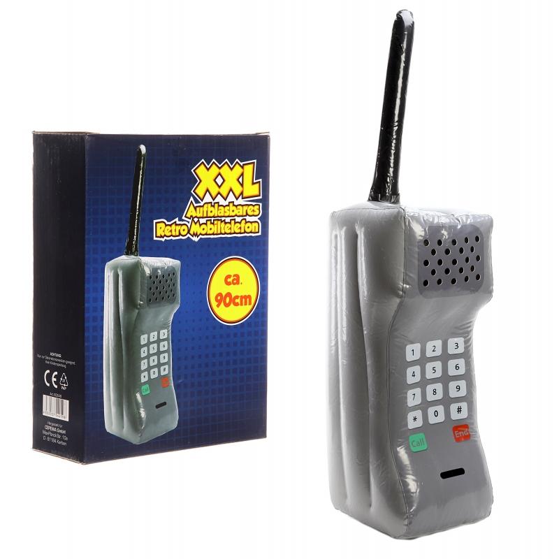 Mega opblaasbare retro telefoon 90 cm