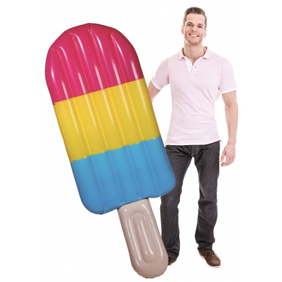 Opblaas ijsje luchtbed 180 cm