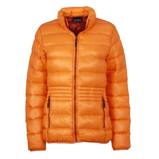 Oranje donsjas voor dames