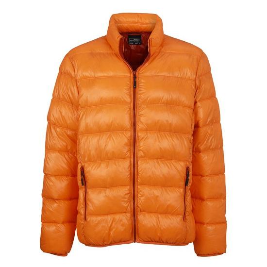 Oranje donsjas voor heren