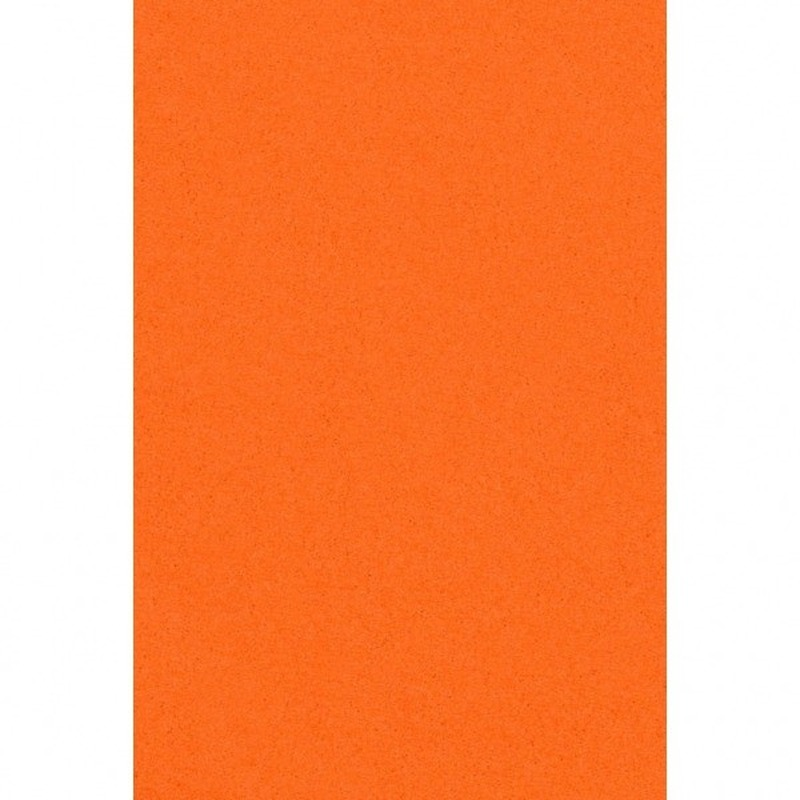 Oranje papieren tafelkleed 137 x 274 cm