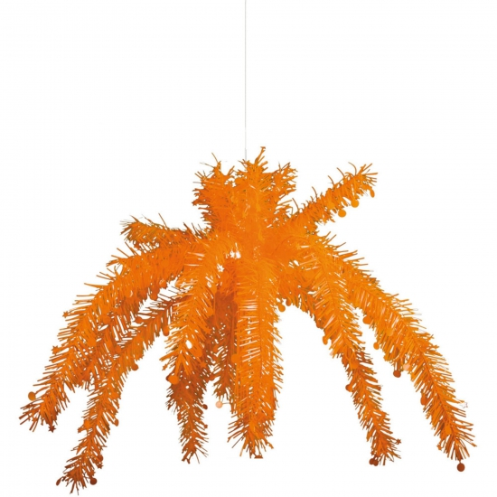 Oranje artikelen Geen Oranje plafond decoratie