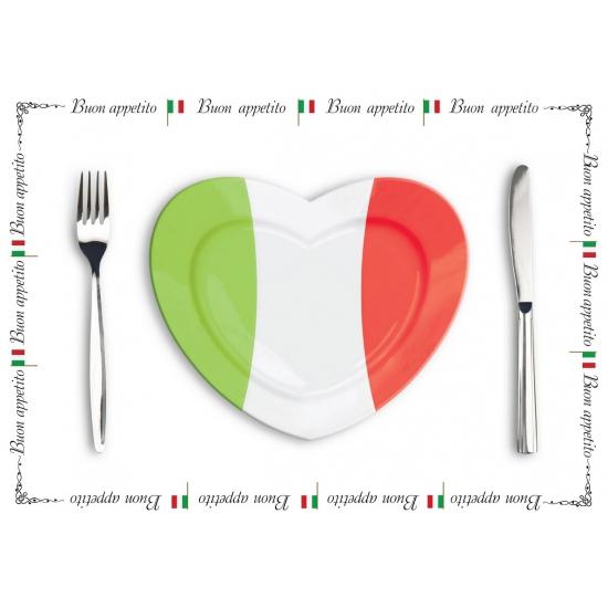Papieren placemats Italie setje