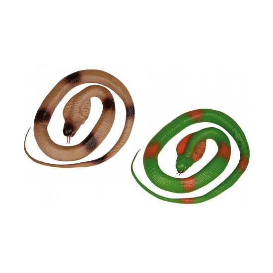 Rubberen slang groen 117 cm