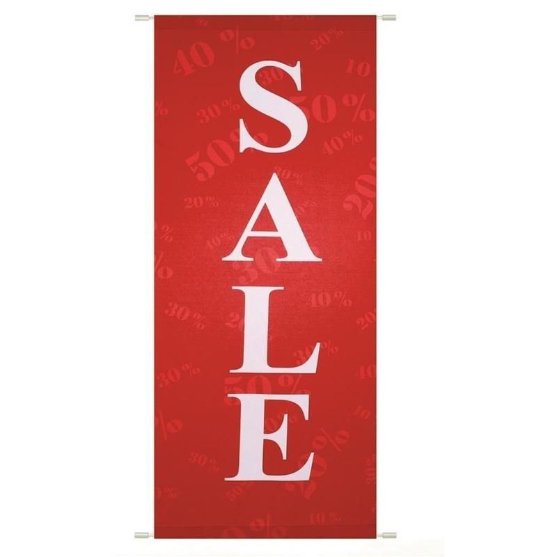 Sale banier brandwerend 75 x 180 cm