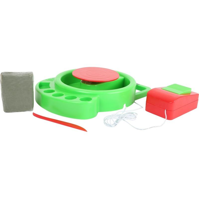 Speelgoed pottenbakker draaischijf voor kinderen