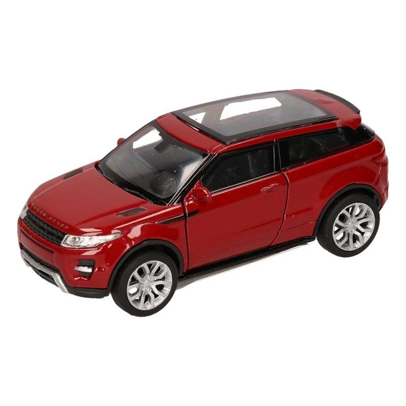 Speelgoed rode Land/Range Rover Evoque auto 1:36