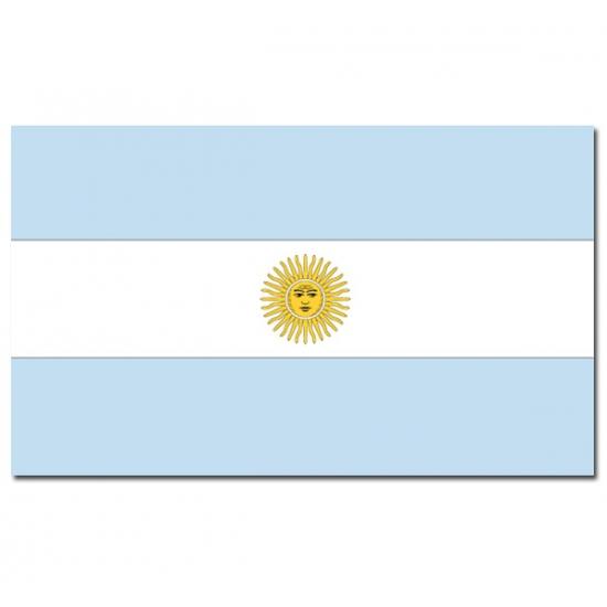 Geen Vlag Argentinie 90 x 150 cm Landen versiering en vlaggen