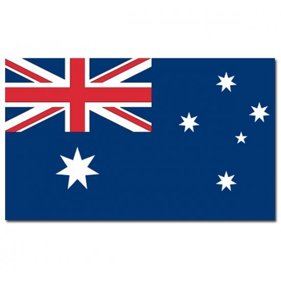 Geen Landen versiering en vlaggen Premier
