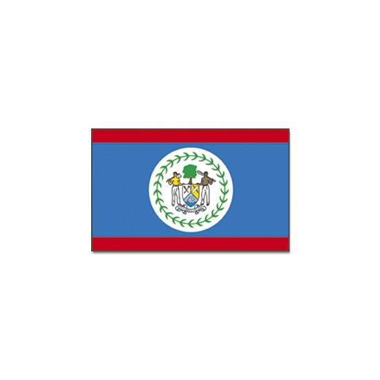 Landen versiering en vlaggen Vlag Belize 90 x 150