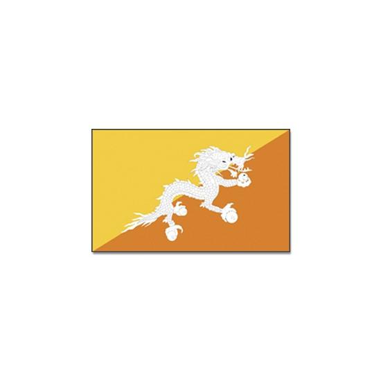 Vlag Bhutan 90 x 150 Geen Landen versiering en vlaggen