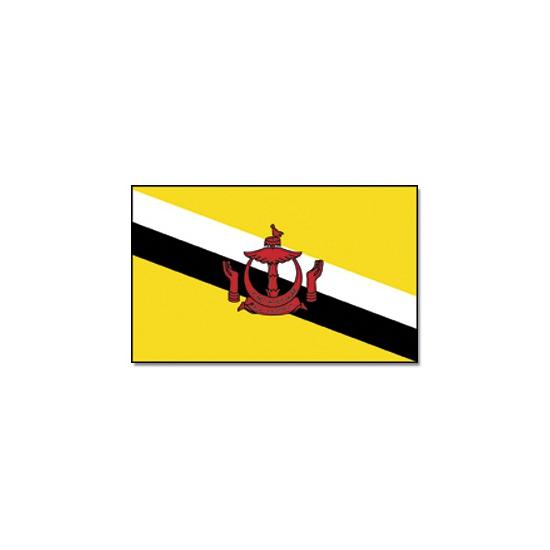 Geen Vlag Brunei Darussalam 90 x 150 Landen versiering en vlaggen